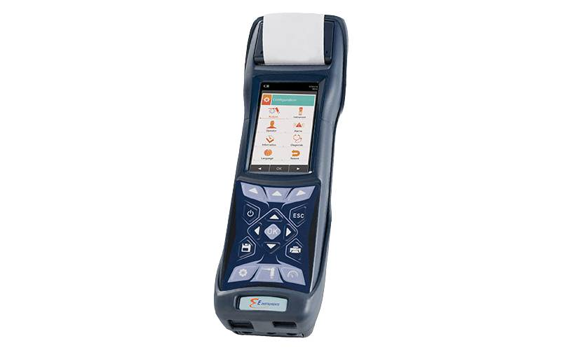 E6000 Hand–Held Industrial Emissions Analyzer | E Instruments