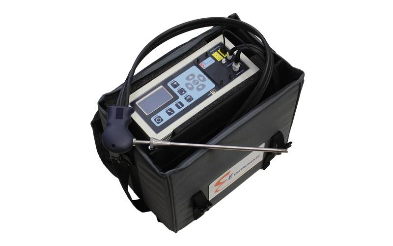 E8500 Plus Portable Industrial Combustion Gas & Emissions Analyzer | E Instruments