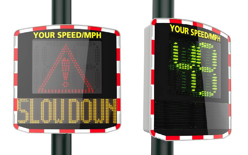Radar Speed Sign Elan Cite