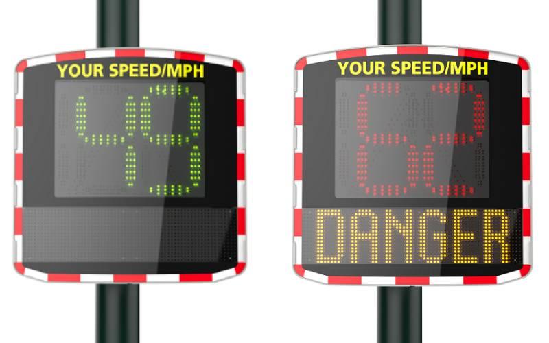 Radar Speed Sign Elan Cite