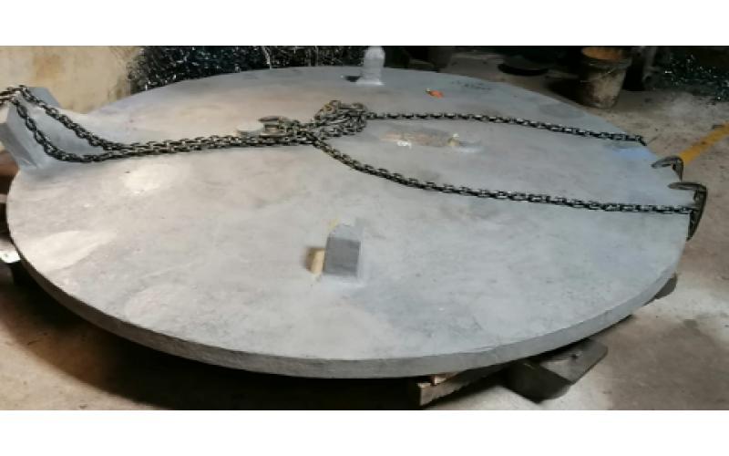 Crucible Metal Lid
