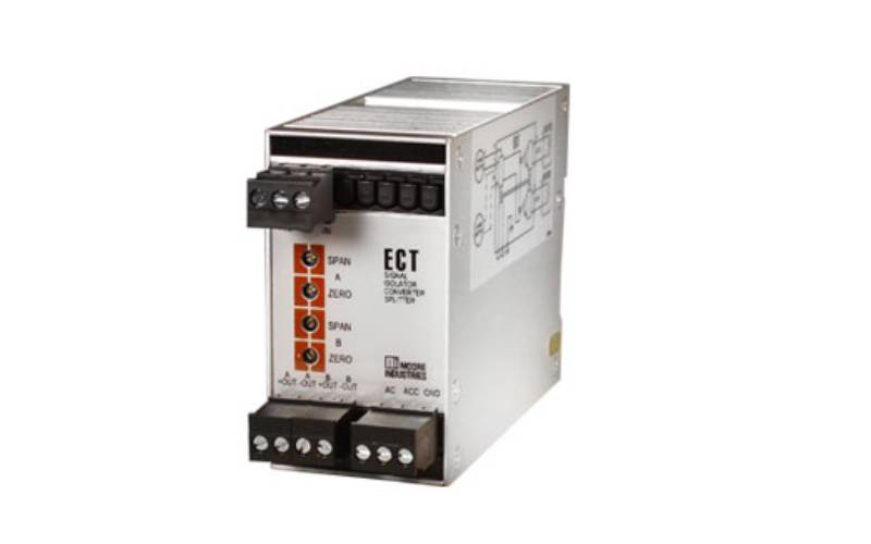 ECT Signal Isolator Converter and Splitter Moore Industries